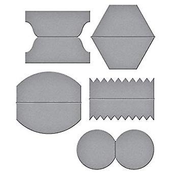 Spellbinders Designer Dies Tab Set eins (S4-633)