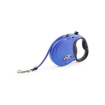 Blue Viva 5m Retractable Lead - Small up to 20kg