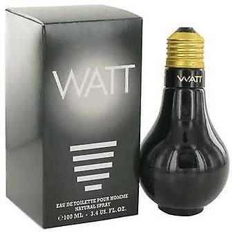 Watt Black By Cofinluxe Eau De Toilette Spray 3.4 Oz (men) V728-500458