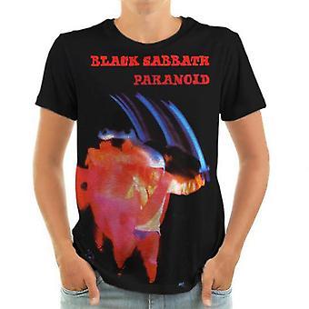 Born2rock - paranoid black sabbath - mens t-shirt