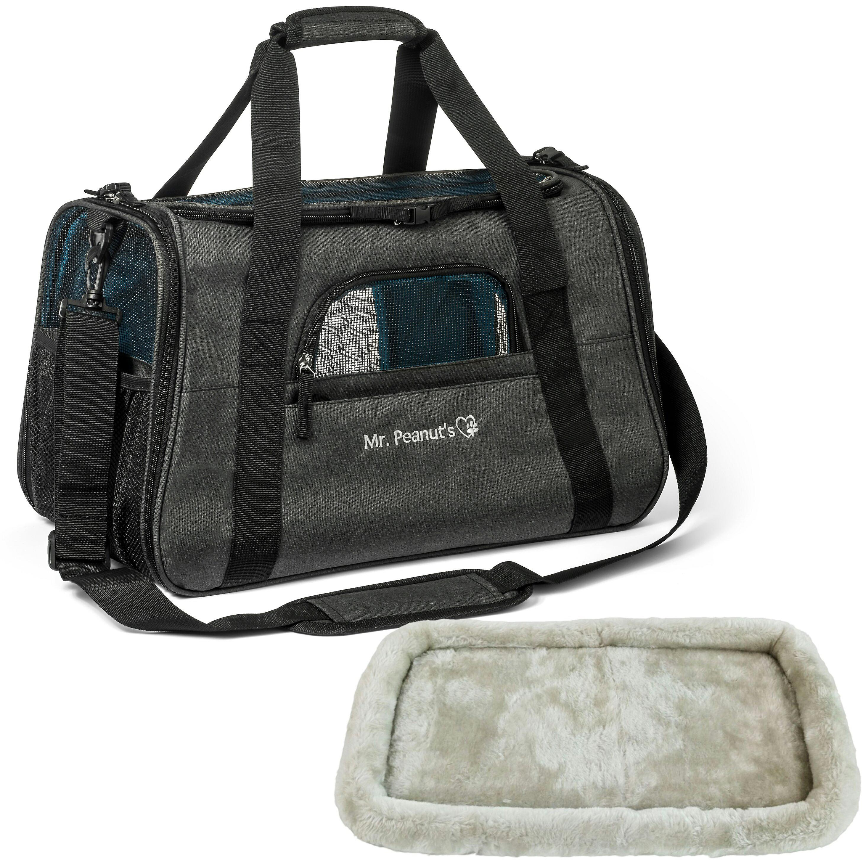 Diamond series plush airline approved pet carrier