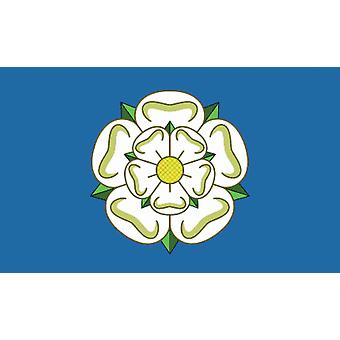 5 ft x 3 ft Flag - UK - Yorkshire Rose