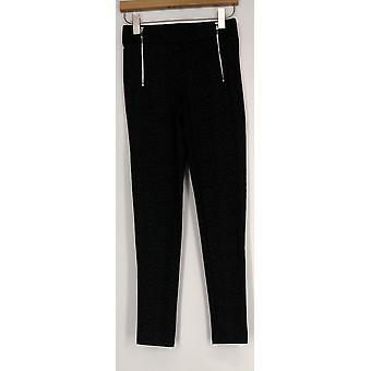 Kate & Mallory Leggings High Density Knit Leggings Gray Womens A426783