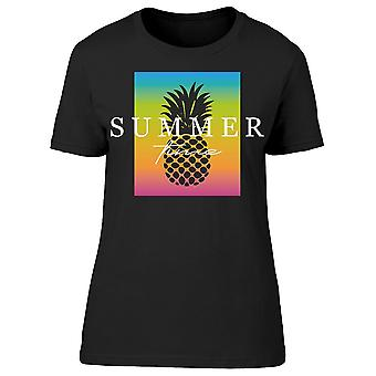 Vintage Summer Time Pineapple Tee Women's -Image by Shutterstock