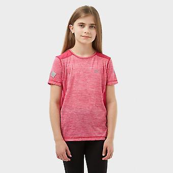 New Regatta Girl's Takson Short Sleeve Breathable T-shirt Pink