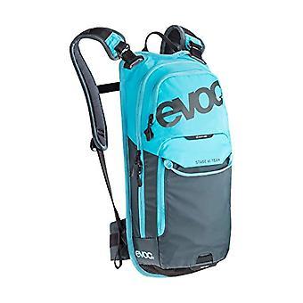 evoc Stage Bike Team Backpack - 44 cm - 6 Liters - Neon Blue/Slate
