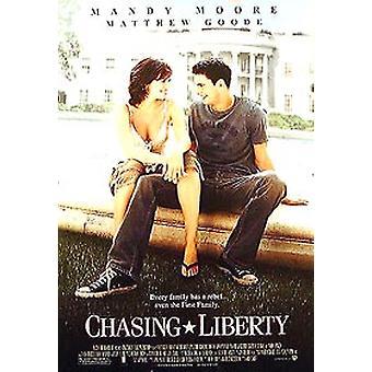 Chasing Liberty (kaksipuolinen säännöllinen) alkuperäinen elokuva juliste