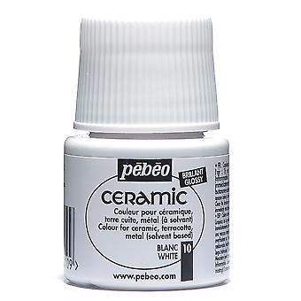 Peinture à base de solvant PEBEO céramique 45ml