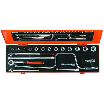 Bahco A7440DZE 3/8 Inch Socket Set