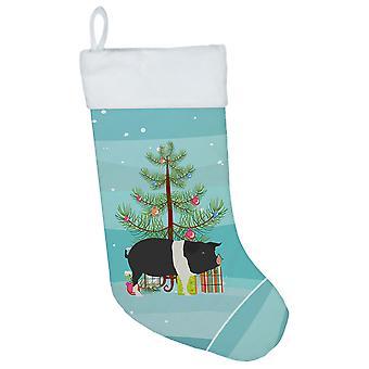 Carolines Treasures  BB9306CS Hampshire Pig Christmas Christmas Stocking
