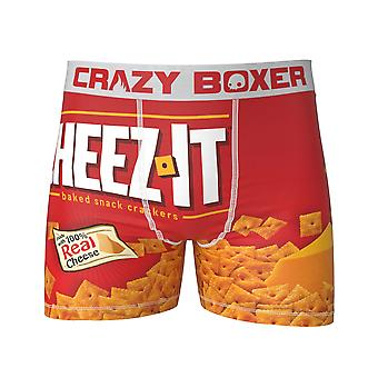 Cheez-It Men's Red Boxers