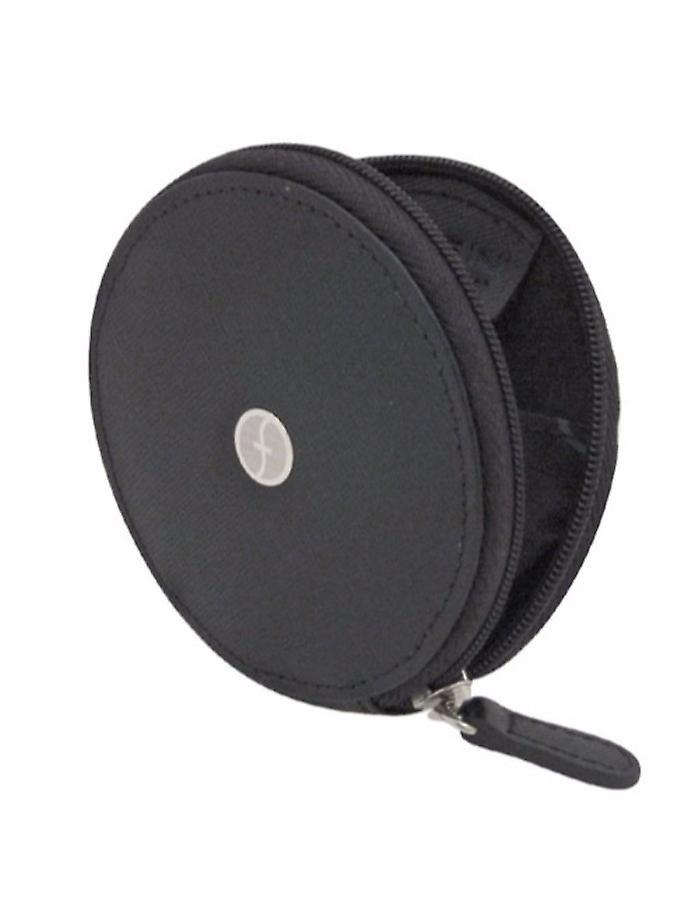ZOPPINI Black Leather Coin Holder