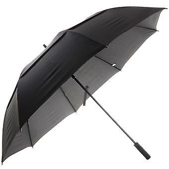 Chuviscos Mens Auto Double Canopy Golf Umbrella