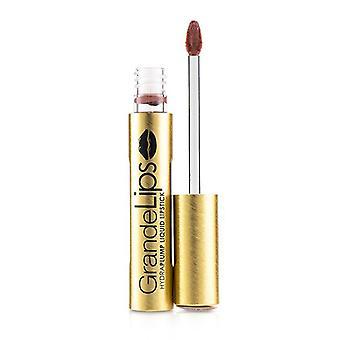 Grande Cosmetics (GrandeLash) GrandeLIPS Plumping Liquid Lipstick (Semi Matte) - # Desert Peak 4g/0.14oz