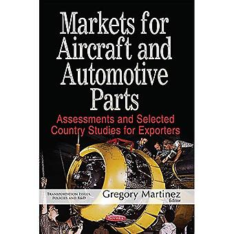 Markets for Aircraft & Automotive Parts: Assessments & Selected Country Studies for Exporters