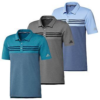 Adidas Heren Golf Heather Block Polo shirt
