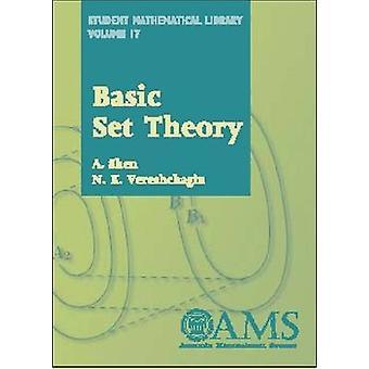 Basic Set Theory by A. Shen - N.K. Vereshchagin - 9780821827314 Book