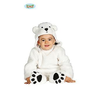Bebê urso polar Urso polar para crianças urso traje das crianças urso traje do bebê