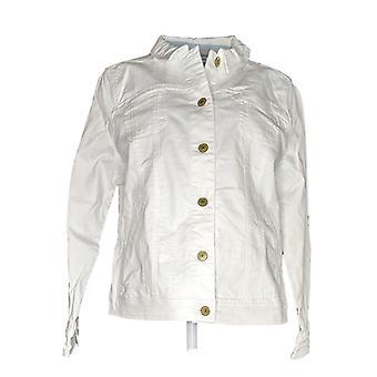Isaac Mizrahi Live! Kvinder ' s true denim farvet Jean hvid A303210
