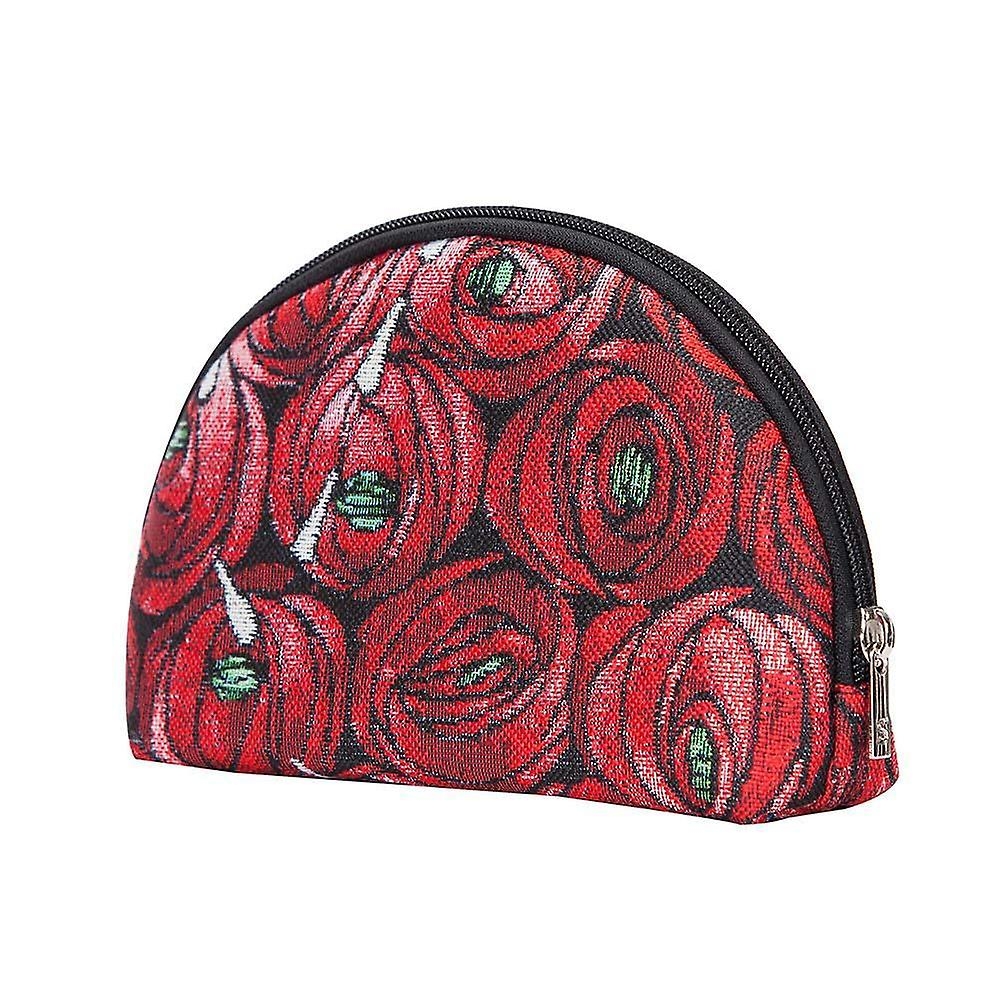Mackintosh - rose and teardrop big cosmetic bag by signare tapestry / bgcos-rmtd