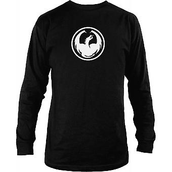 Dragon Icon Long Sleeve - Black