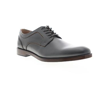 Giorgio Brutini Shea  Mens Gray Leather Dress Lace Up Oxfords Shoes
