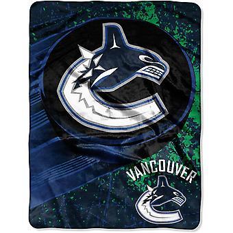 Northwest NHL Vancouver Canucks Mikro Plüschdecke 150x115cm