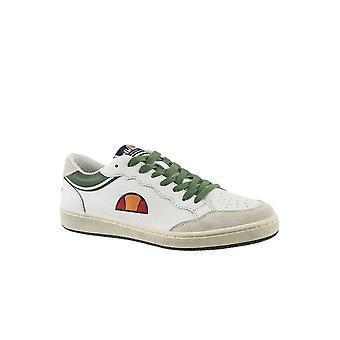 Sneakers Cuir Bicolores Logo Brodé  -  Ellesse