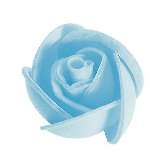 Culpitt kleine Wafer essbare Rose - blau