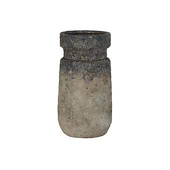 Lys & Levende Vase Deco 15x28.5cm Soputan Rå Vintage Blå