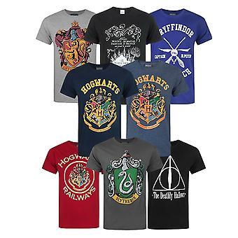 Harry Potter Hogwarts Houses Marauders Railway Quidditch Hallows Men's T-Shirt
