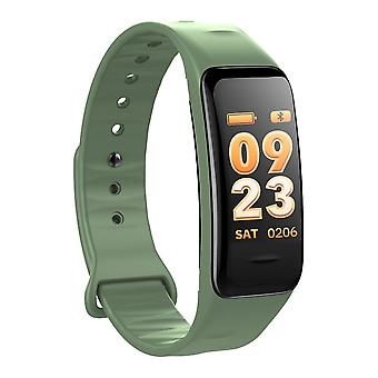 C1S multifunctional activity bracelet with color screen-green