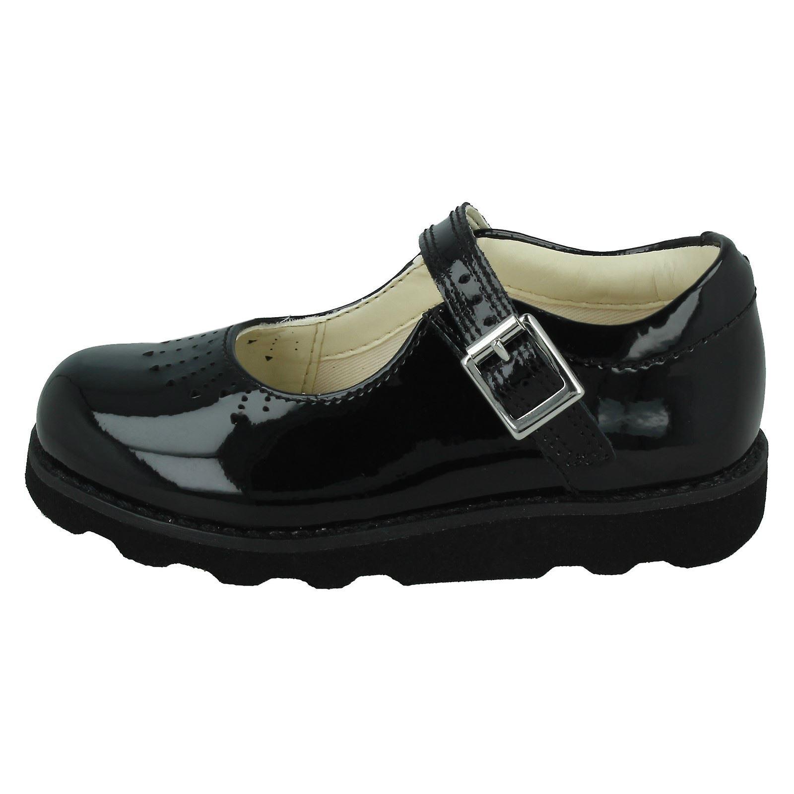 Jenter Clarks kuttet ut detaljert sko Crown hoppe
