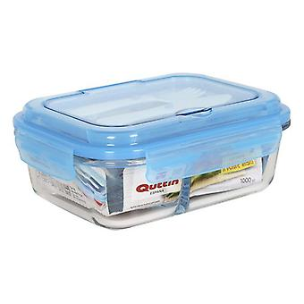 Lunchbox with Cutlery Comparment Quttin/1,5 L - 23,7 x 18 x 8,5 cm
