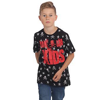 YAKUZA Lasten T-paita Skull N Tähteä