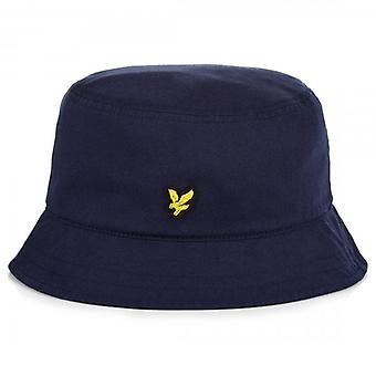 Lyle & Scott Logo Navy Bucket Hat HE800A