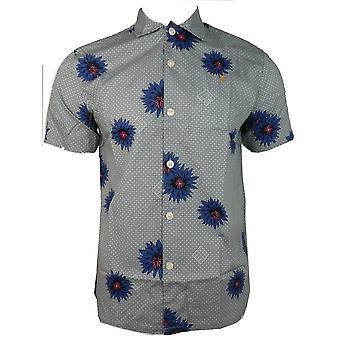 Farah shirts Odessa SS bedrukt shirt