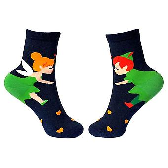 Women's Neverland Fairy Storytime Crew Socks