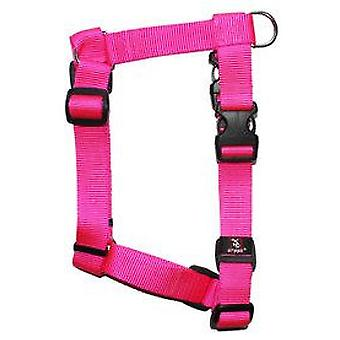 Arppe Harness Nylon Basic Fuchsia (Dogs , Collars, Leads and Harnesses , Harnesses)