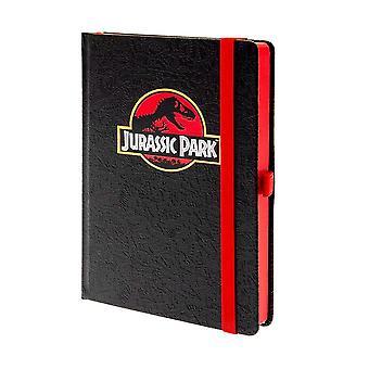 Jurassic Park, Notitieboek