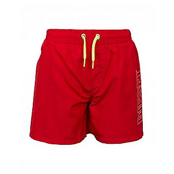 Diesel Kidswear Mbx Sandy Logo Swim Shorts