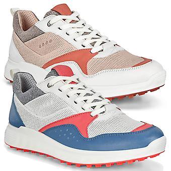 Ecco Mujeres Ecco W Golf S-Casual Zapatos de Golf de Cuero Impermeable