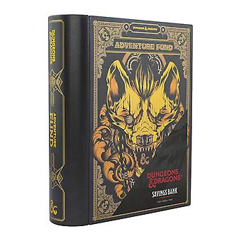 Dungeons & Dragons Savings Bank Book-Shaped Moneybox 20cm Tall