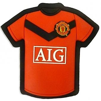 Manchester United Home Shirt Rubber Fridge Magnet 2009