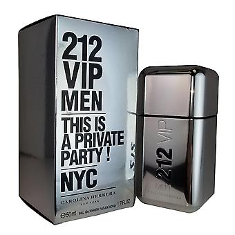 212 vip mænd for mænd ved Carolina Herrera 1,7 oz eau de toilette spray