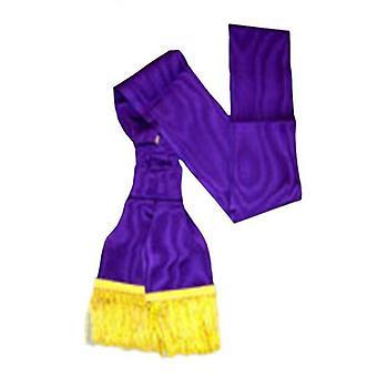 Red cross of constantine companion purple sash