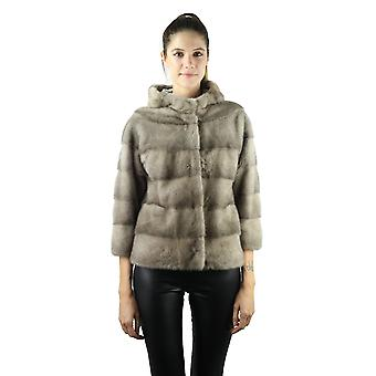Sam-rone Women's Light Beige Coat