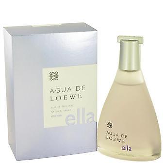 Agua de loewe ella eau de toilette spray by loewe 492009 100 ml