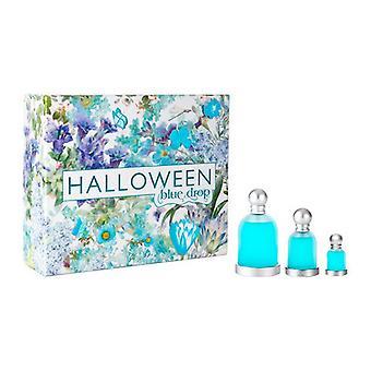Men's Perfume Set Halloween Blue Drop Jesus Del Pozo EDT (3 pcs)
