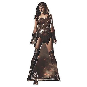Wonder Woman (Gal Gadot) Lifesize carton découpe / voyageur debout / stand-up